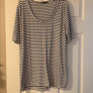 POL striped shirt